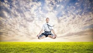 levitazione-di-yoga-di-affari-32045609